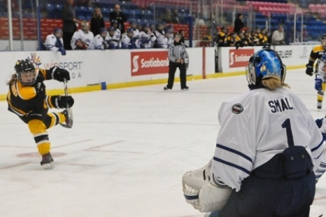Best CWHL Performances of October 2012