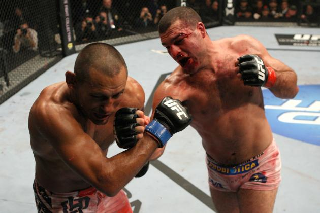 10 UFC Fighters Who Define the Warrior Mindset