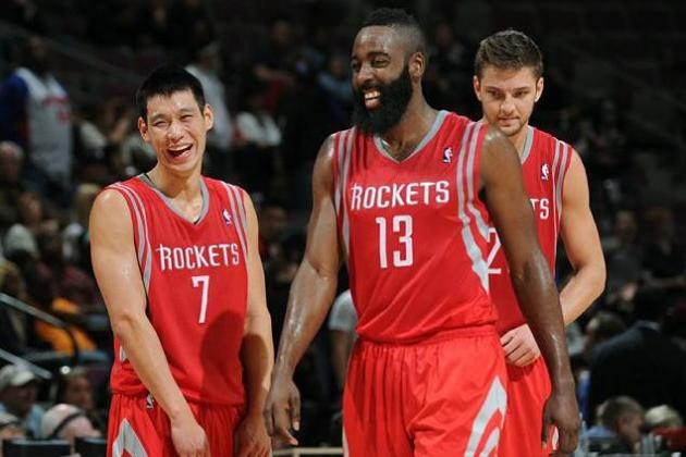 5 Plays Rockets Must Take from Thunder for James Harden and Jeremy Lin to Thrive