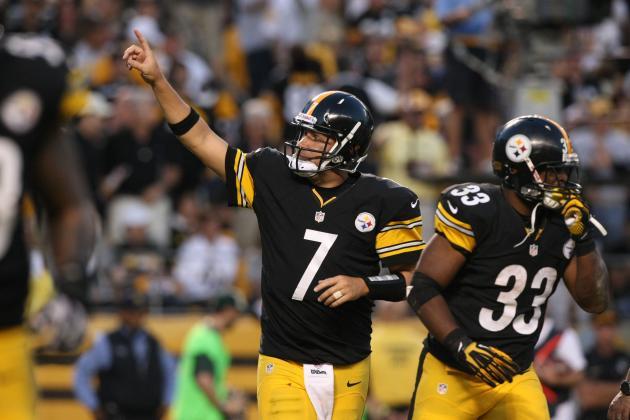 Pittsburgh Steelers Midseason Award Winners