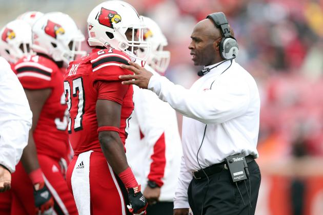 Is Arkansas, Tennessee or Auburn a Better Job for Louisville's Charlie Strong?