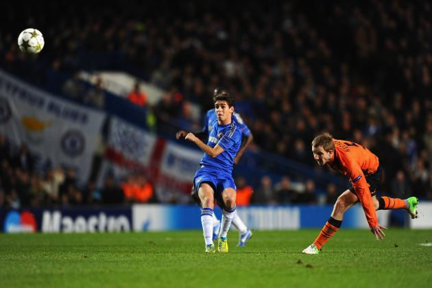 UEFA Champions League Ratings for Chelsea Players Against Shakhtar Donetsk