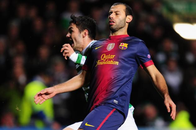 Rating the Barcelona Players Against Celtic in the Champions League Defeat
