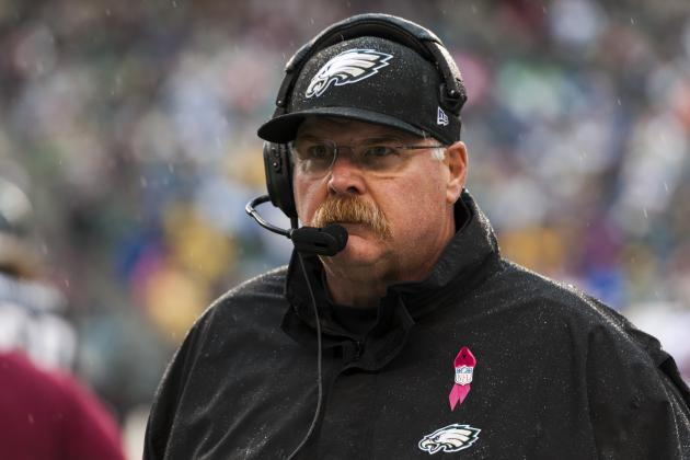 Andy Reid Thinks Eagles Can Turn It Around, but What Does the Schedule Say?