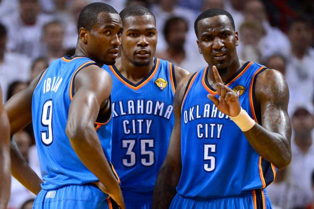 Early Report Card Grades for Each Oklahoma City Thunder Player