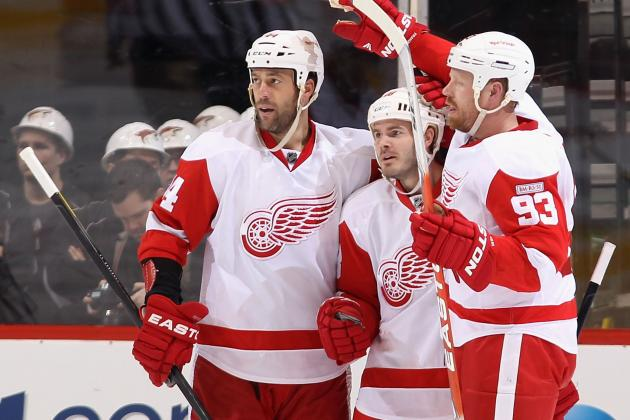 NHL Lockout: 4 Red Wings That Could Face a Buyout or Trade in 2012-13
