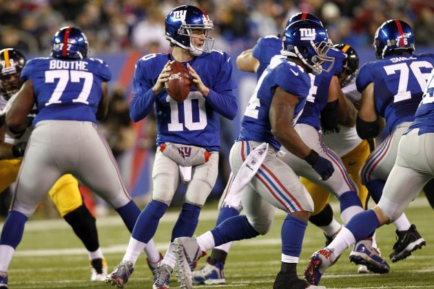NY Giants Midseason Grades for the Offense: Eli, Cruz, Nicks, Bradshaw and Co.
