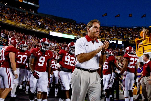 Alabama Football: How Texas A&M's Offense Will Prepare Tide for Oregon