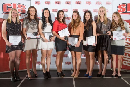 2012 CIS Women's Soccer Award Winners