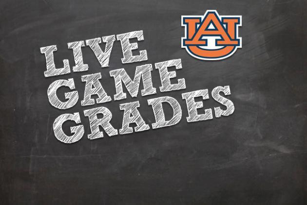 Georgia vs. Auburn: Postgame Grades from Tigers' Loss vs. Bulldogs