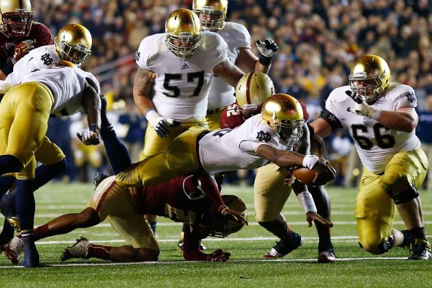 Notre Dame Football: 10 Things We Learned About the Irish's Win over the Eagles