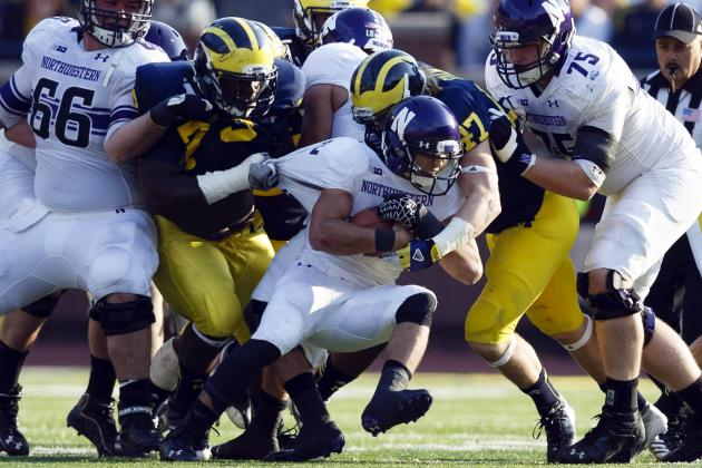 Michigan Football: Grading All 22 Starters from the Northwestern Game