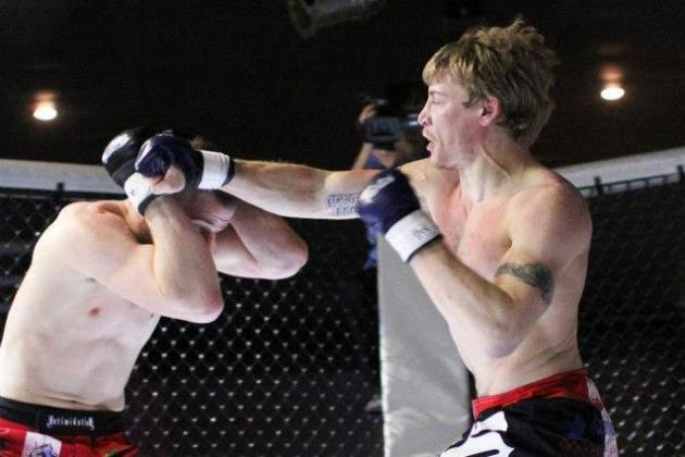 Driller Promotions Minnesota MMA Results: Matt Veal Submits Morgan Sickinger