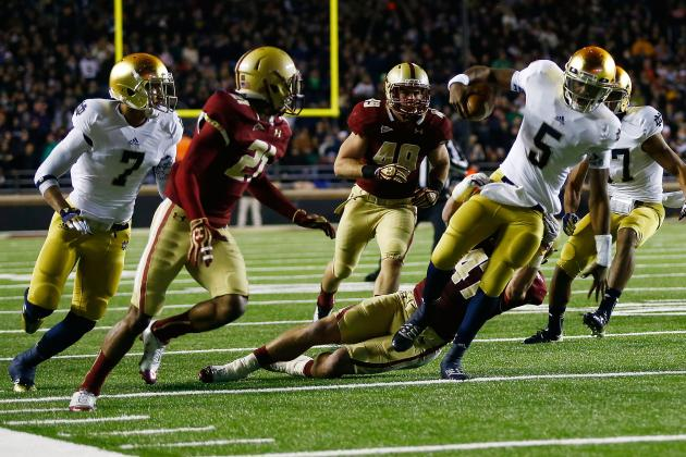 Notre Dame Football: Winners & Losers from the Week 11 Game vs. Boston College