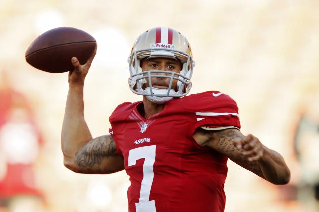 Full Report Card Grades for Colin Kaepernick vs. Rams