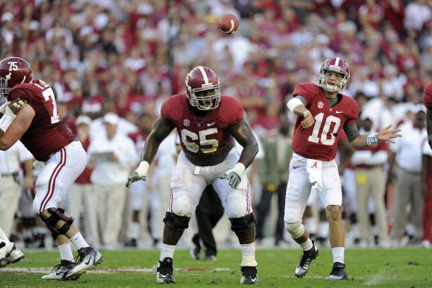 Alabama Football: Grading All 22 Starters from the Texas A&M Game
