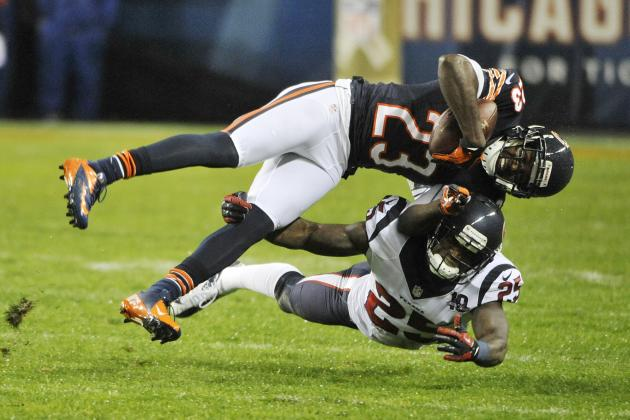Winners and Losers from Bears' Loss to Texans