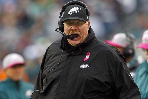Hot Seat Rankings: Andy Reid, Lane Kiffin and More Coaches in Trouble