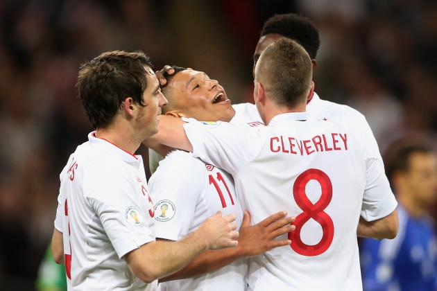Projecting England's World Cup Roster for Brazil 2014