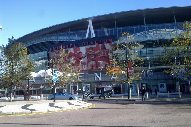 Highlights of a 1st-Time Visit to Arsenal's Emirates Stadium