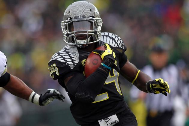 Kenjon Barner vs. Stepfan Taylor: Breaking Down Top Pac-12 RBs