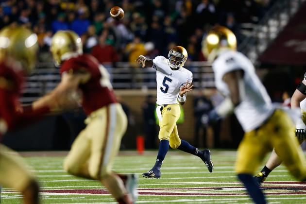 Notre Dame Football: 5 Ways Brian Kelly's QB System Has Helped the Irish in 2012