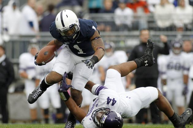 Penn State Football: 4 Things Bill Belton Must Do to Get Starting RB Job Back