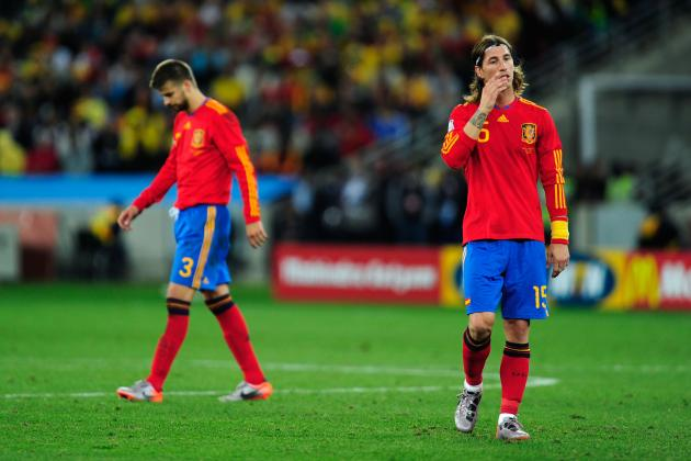 2014 FIFA World Cup: How Will Spain's Defense Look in Brazil?