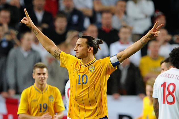 Zlatan Ibrahimovic vs. England and the 10 Greatest Overhead Goals of All Time