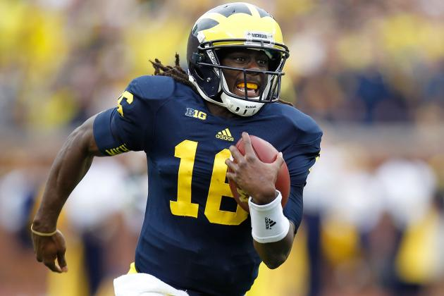 Michigan Football: Ranking Denard Robinson's 10 Greatest Games at the Big House