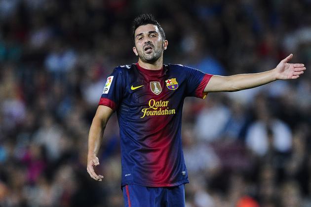 Chelsea Transfer Rumors: Radamel Falcao, David Villa, Marouane Fellaini and More