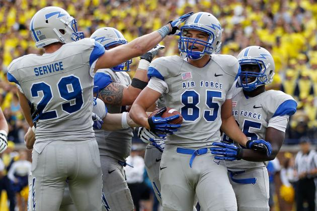 Air Force Football: 10 Things We Learned in Falcons' Win Against the Warriors