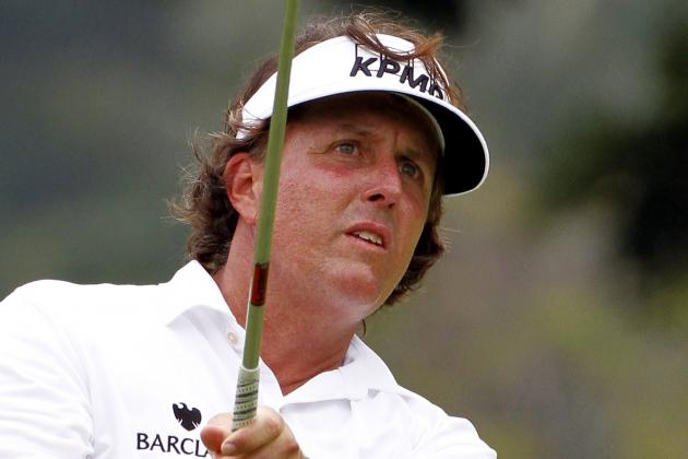 Phil Mickelson: Report Card Grades for His 2012 Season