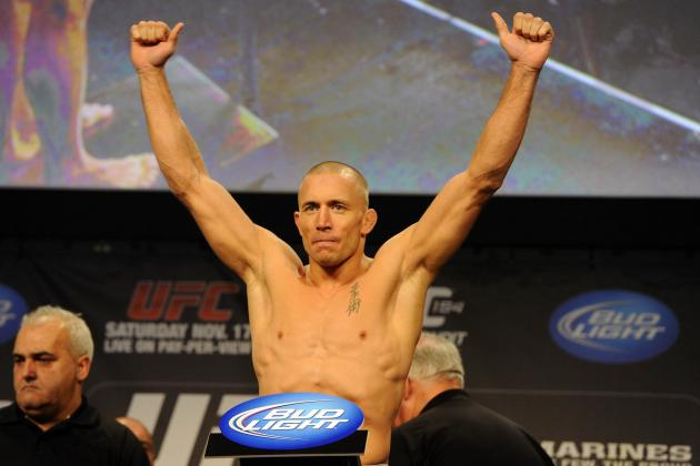 UFC 154 Predictions: Final Preview and Prediction for St-Pierre vs. Condit Card