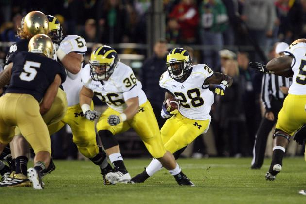 Fitzgerald Toussaint Injury: 5 Michigan Players Who Must Step Up vs. Ohio State
