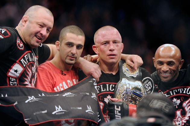 UFC 154 Results: Memorable Images and Quotes from GSP vs Condit Fight Card