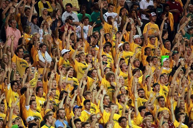 Big 12 Basketball: Baylor's 'Sic Em Bears' Worst Amongst Awkward Cheers