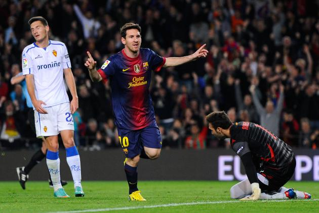 Lionel Messi Moves Closer to History, Barca Wins
