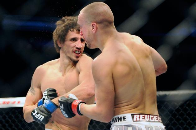 UFC 154: 5 Fights for Pablo Garza to Take Next