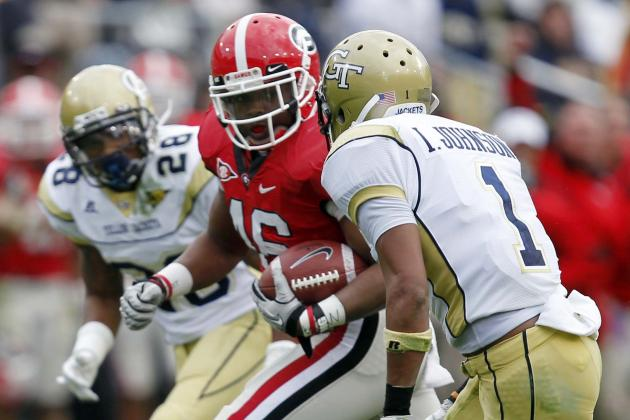 Georgia Tech vs. Georgia: Why Yellow Jackets Can't Reach the Bulldogs' Level
