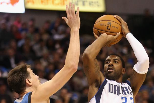 How Dallas Mavericks O.J. Mayo Matches Up Against Each Starting SG in the West