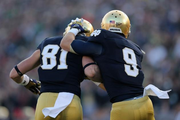 Notre Dame Football: Grading All 22 Starters from the Wake Forest Game