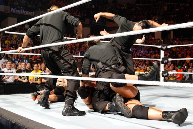 WWE Survivor Series 2012: Meet Dean Ambrose, Seth Rollins and Roman Reigns