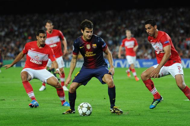 Champions League: Why Barcelona Should Easily Win Against Spartak Moscow