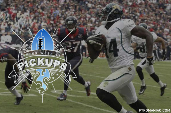 Fantasy Football: Waiver-Wire Pickups after Week 11