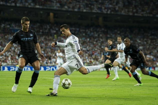 Manchester City vs. Real Madrid: 6 Key Players to Watch