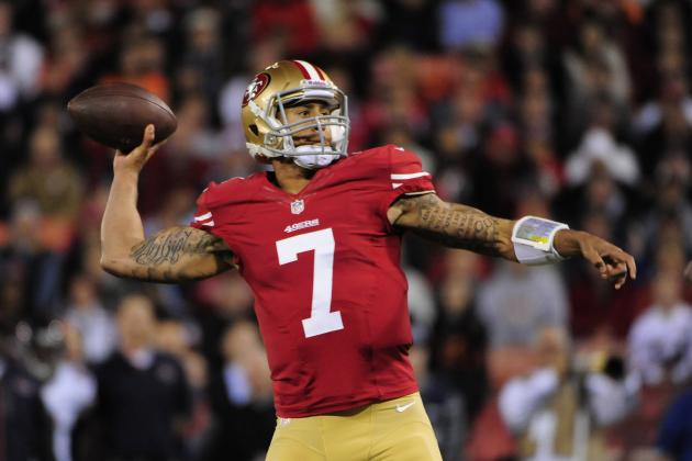 Colin Kaepernick and 4 NFL Players Set to Explode in 2013