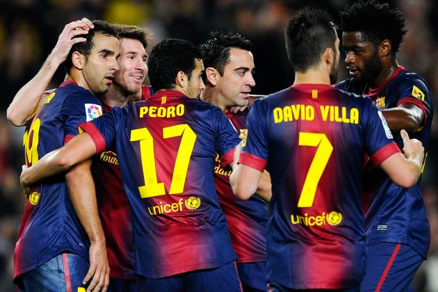 Rating the Barcelona Players Against Spartak Moscow