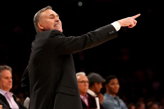 Grading Mike D'Antoni in His First Game as L.A. Lakers Head Coach