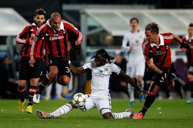Milan 3-1 Anderlecht: 5 Things to Take Away from Milan's Champions League Win